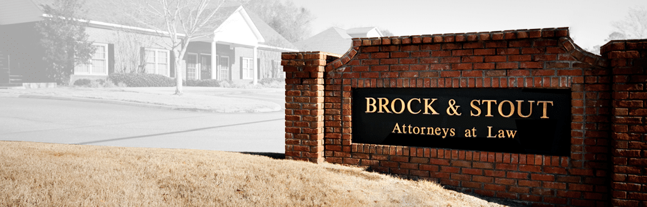 Alabama Attorneys Brock & Stout Attorneys at Law