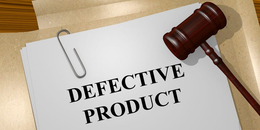 Defective Product title On Legal Documents